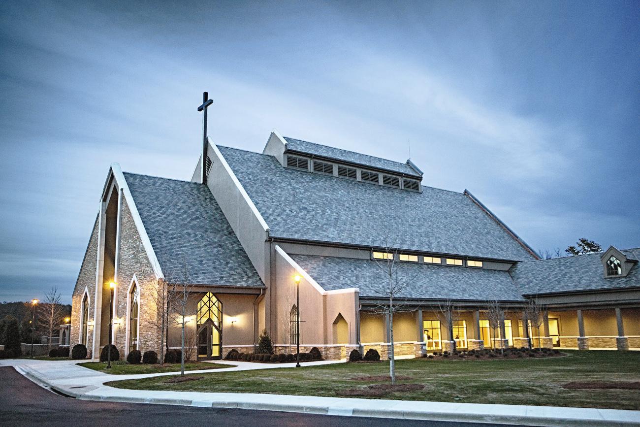 Church Of The Highlands Chapel Johnsonkreis Construction